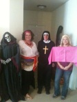 Yes, the Halloween party at my house qualifies as an adventure!