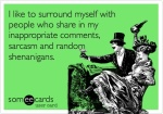 surround myself