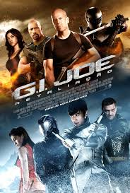 We rented GI Joe 2 and had an at home movie night!