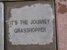 it's the journey