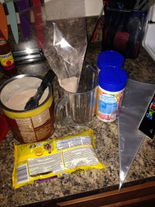 Homemade hot chocolate gifts