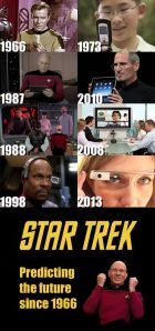 Star Trek predicting the future