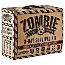 Zombie 3 day survival kit