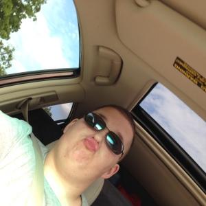 Duck lip selfie