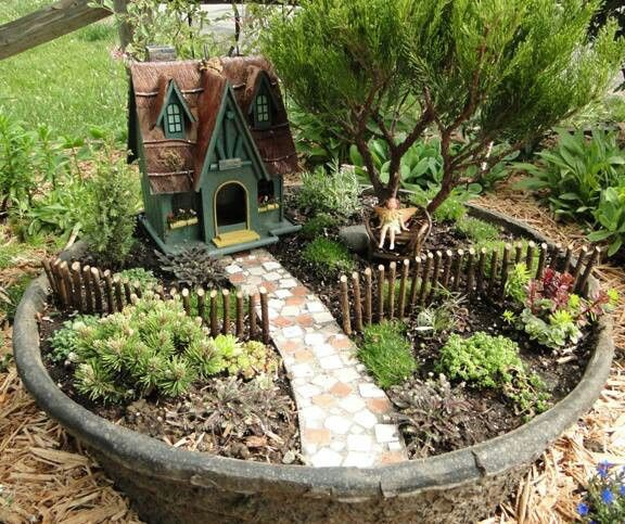 15 Breathtaking Diy Fairy Gardens: Did That Just Happen Blog