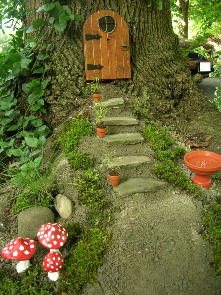 Fight the fairies did that just happen blog for Outdoor fairy door
