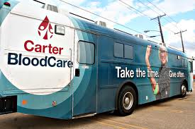 Carter mobile blood drive