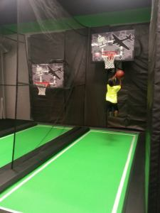 Flight deck basketball