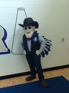 Meet the new mascot!