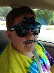 Mr. T new sunglasses
