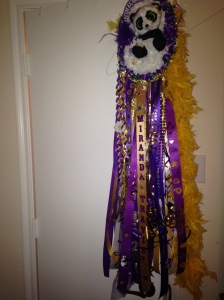 Mr. T homecoming mum