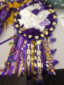Mr. T Homecoming Garter