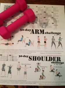 30 day arm and shoulder challenge