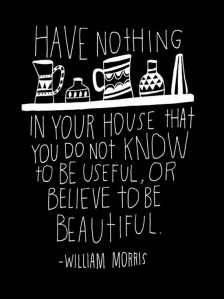 have nothing in your house