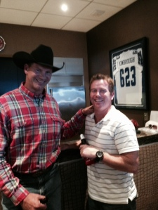 Uh huh, that's right.  BA and Jay Novacek.