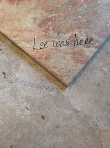 Lee was here tile 3