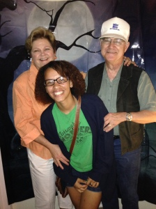 Mom, dad and Sam
