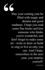 May your coming year be filled with magic