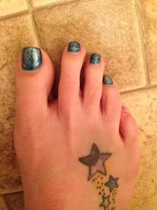 lost my pinky toenail