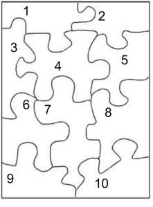 Pinterest puzzle project