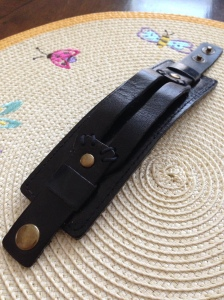 Leather belt bracelet give away - Did That Just Happen Blog