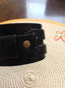 leather bracelet giveaway -Did That Just Happen Blog