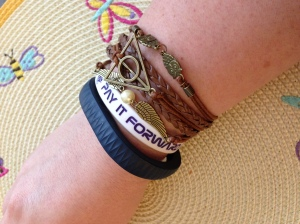 stacked bracelets - Did That Just Happen Blog