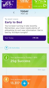 Jawbone sleep training 1