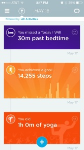 Jawbone sleep training 3