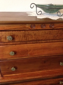 Restoring an antique highboy on Did That Just Happen Blog