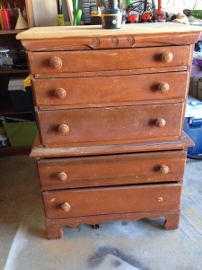 Antique dresser renovation Did That Just Happen Blog