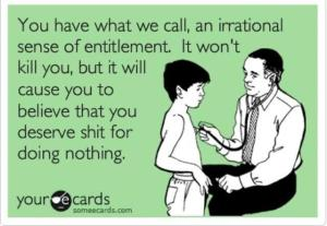 Millennial-entitlement | Did That Just Happen Blog