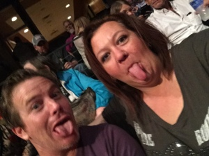 Funny Faces at the Meatloaf concert at Did That Just Happen Blog
