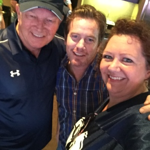 The host with the most at the Cowboy game with Did That Just Happen Blog