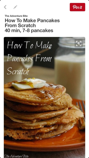How to make pancakes from scratch at Did That Just Happen Blog