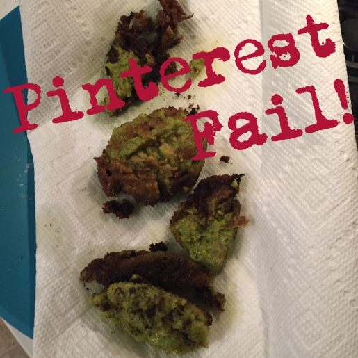 Pinterest Fail Homemade veggie nuggets at Did That Just Happen Blog