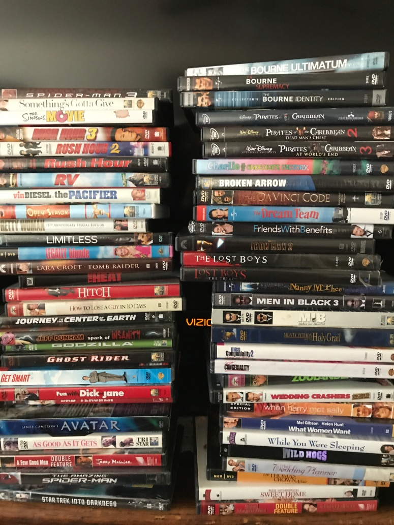 Declutter DVD's at Did That Just Happen Blog